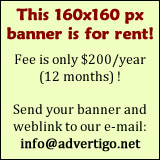 This 160x160 px banner is for rent!