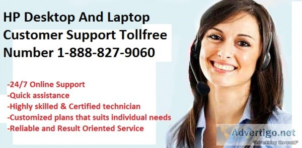 Hp desktop customer support 18888279060