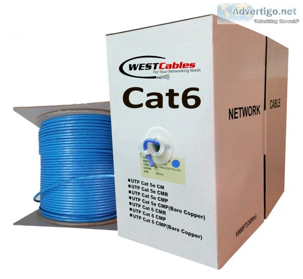 Cat6 cmp plenum utp cable