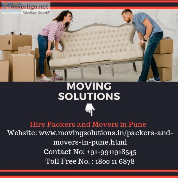 Hire Top Packers and Movers Pune at Standard Rates  Movingsoluti