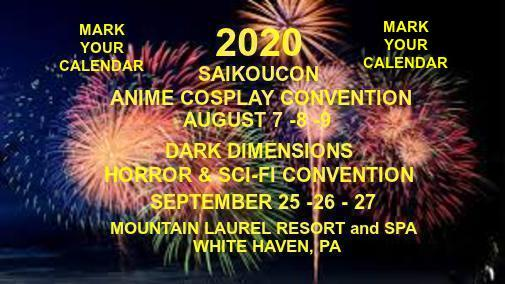 2020 DATES SET MARK YOUR CALENDAR