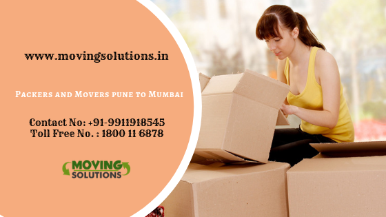 Get Free Quotes of Top 3 Packers and Movers Pune to Mumbai