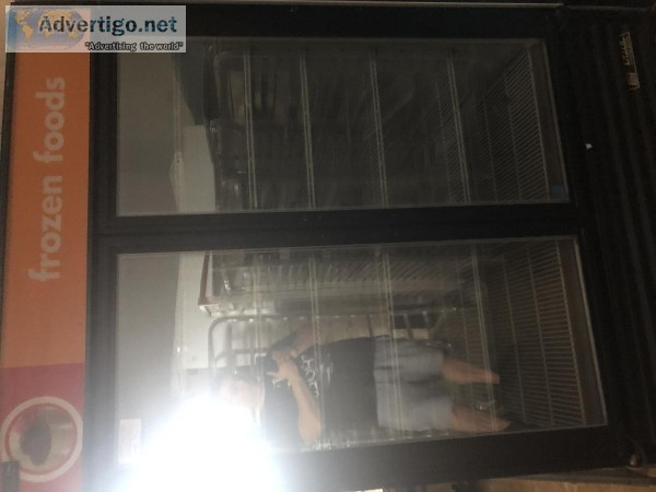 true 2 glass 2 door freezer