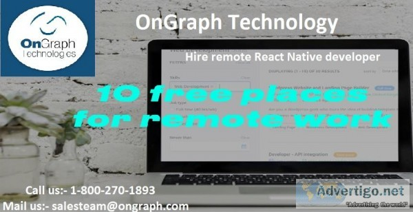 React Native consultancy  React Native Consulting Company