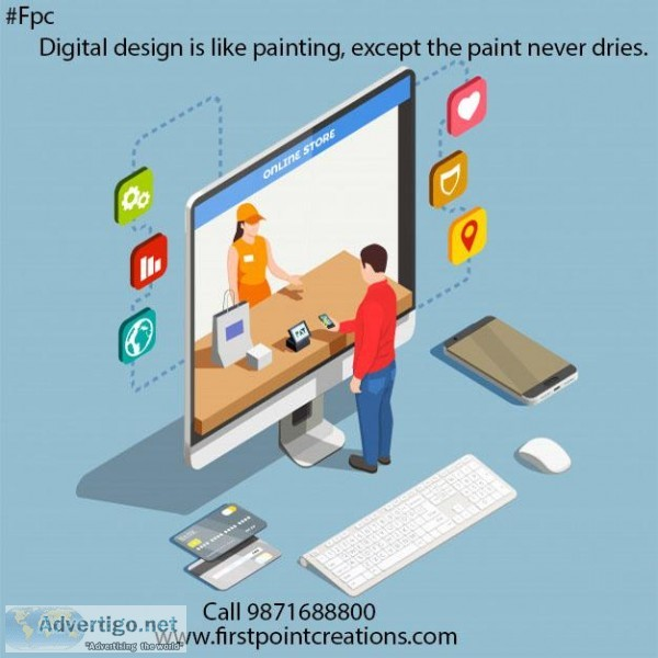 Digital Marketing Company in Delhi Firstpointcreations