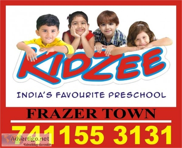 Kidzee Frazer Town  7411553131  Early Education  1120  Preschool