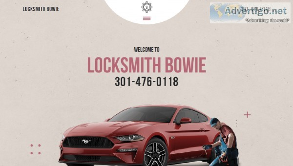 Locksmith Bowie - Your Ideal Rescue For Emergency Lockouts