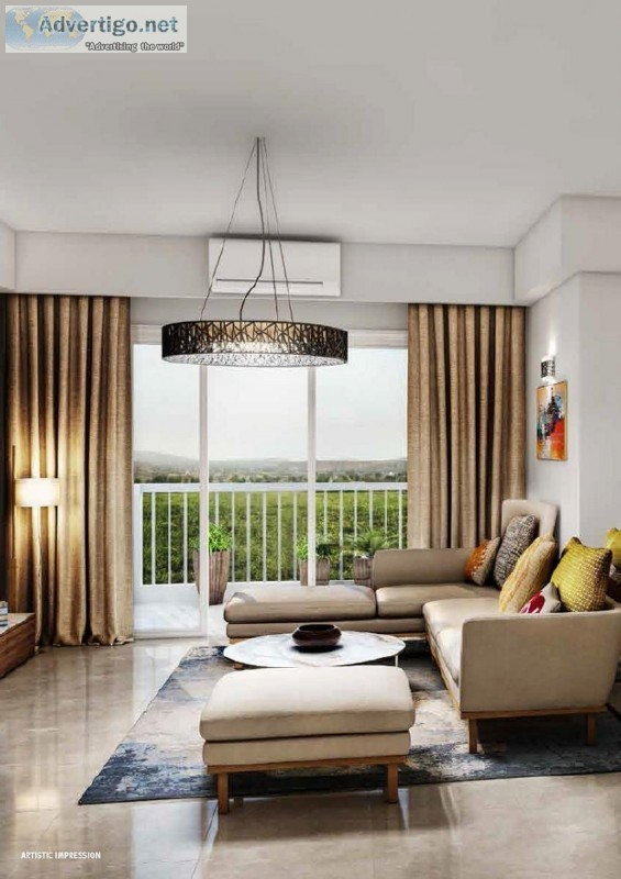 Emaar Palm Heights &ndash Luxury 3BHK Utility Apartments at Sect