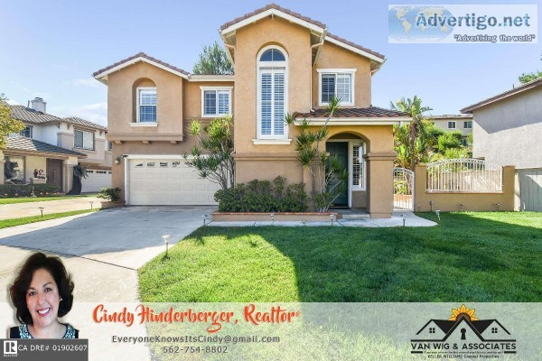 Nestled in Anaheim Hills Two-Story 5-Bed Home