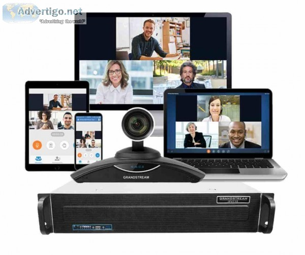 Best Video Conferencing Technology  Grandstream India