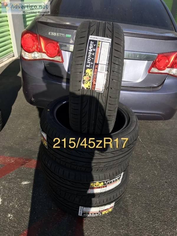 21545zR17 new tires