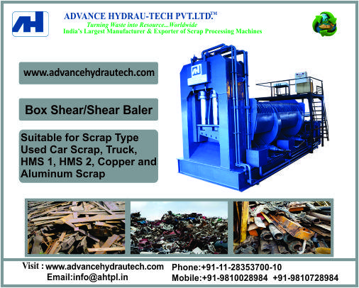 Box Shear Baler for Heavy Metal Scrap Cutting