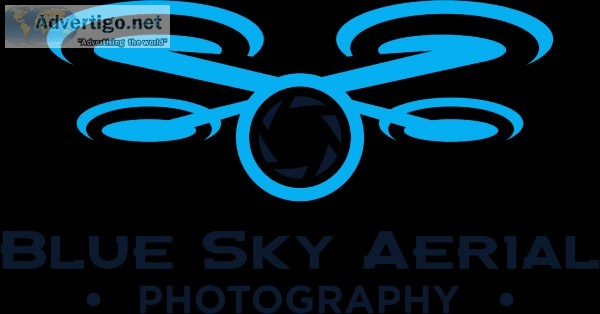 Blue Sky Aerial Photography