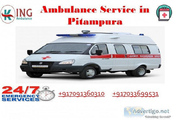Hired an Effective and Inexpensive Ambulance Service in Pitampur
