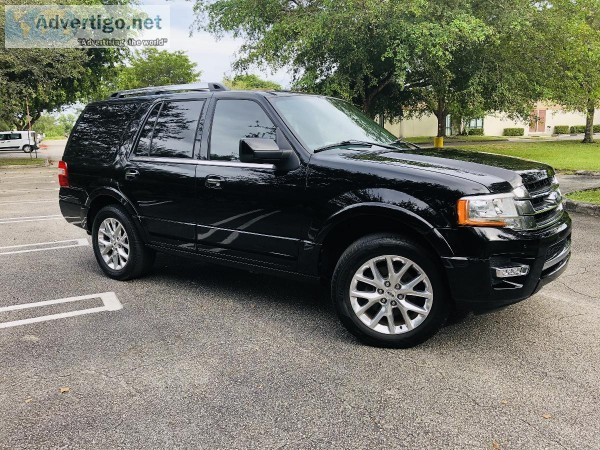 2017 Ford Expedition Limited Sport Utility 4D