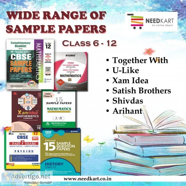 Sample Papers for all Categories