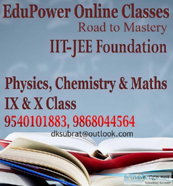 IIT Foundation IX and X online