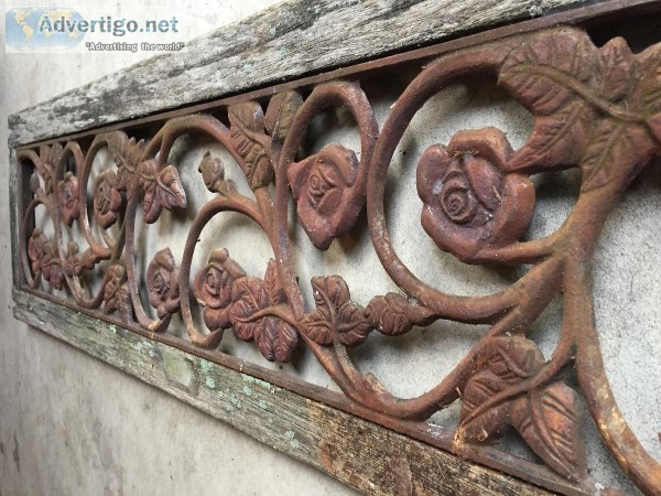 Wrought Iron Architectural Piece