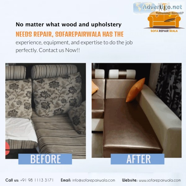 Sofa Repair and Services in Noida