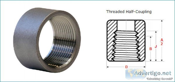 Threaded  Screwed Half Coupling