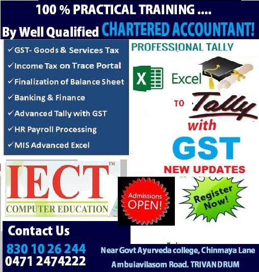 INSTITUTE OF GST  PRACTICAL ACCOUNTING PROFESSIONAL ACCOUNTING C