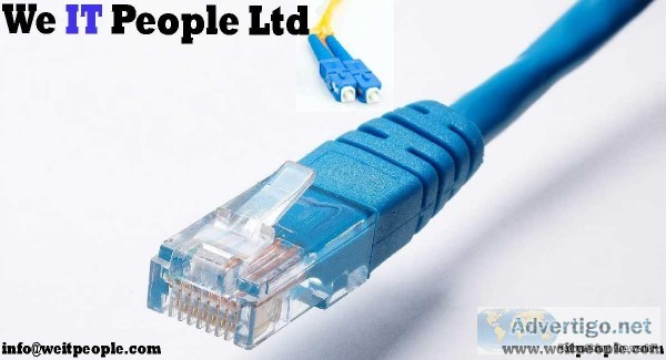 Structured and Network LAN WAN Cabling in Canada  By WE IT PEOPL