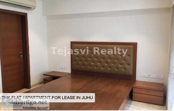 3 bhk flat for rent in juhu  Tejasvi Realty