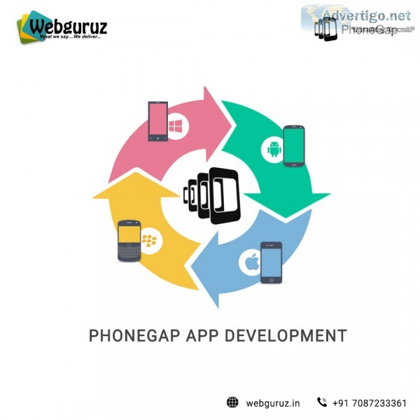 Phonegap app development services - webguruz