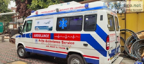 On-Call 247 Hours Ambulance Service Patna  ASHA