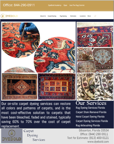 Carpet Dyeing Services