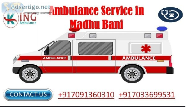 Safe and Reliable Ambulance Service in Madhubani at Low-Cost
