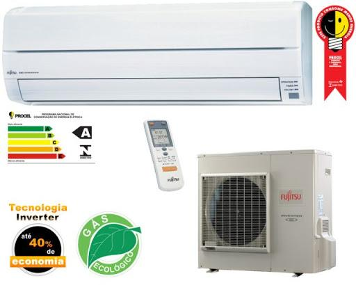 Split Air Conditioner 12000 BTU  s Hot  Cold 220V Fujitsu Invert