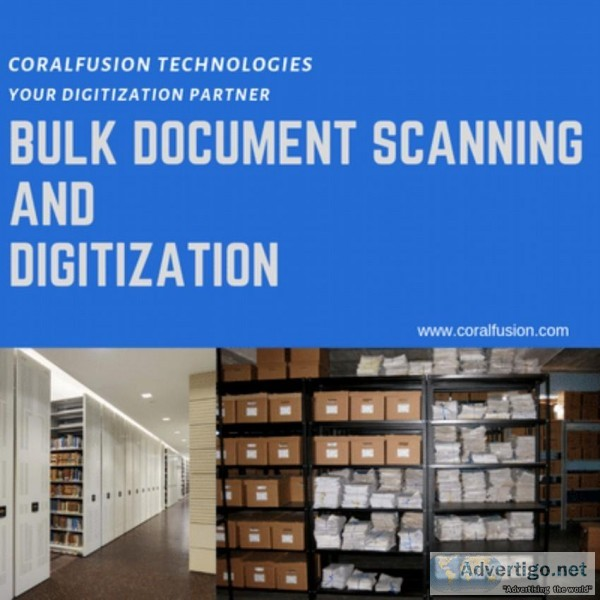 Documents Scanning Digitization Services