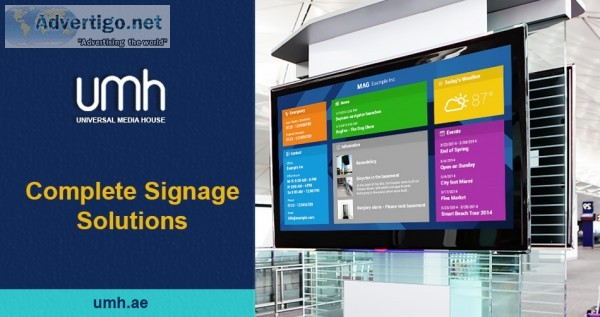 Umh-best led display screen distributor in dubai