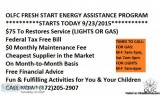 We will Pay Your Gas and Electric Bill or Restore Services