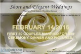 Valentine Wedding Event
