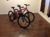 2 Mongoose mountian bikes - Pink (new) (Richmond)