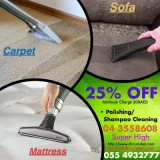 25%off (promo) carpet/mattress cleaning