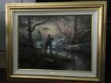 Thomas Kinkade Framed Print Ltd Edition &quotIt Doesn  Get Much