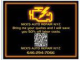 Nicks Auto Repair 50% OFF