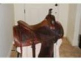 AL GOULD Working cow horse SADDLE 16&quotCUSTOM