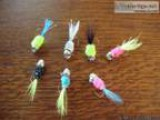 Made to Order CRAPPIE or PAN FISH Hand Tied FISHING JIGS - Price