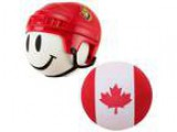 NHL Hockey Ottawa Senators Antenna Topper and Canadian Flag Ante