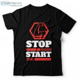 Stop wishing start doing t-shirts