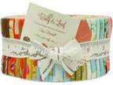 Moda Wing and Leaf Jelly Roll 40 2.5&quot Strips Precut Fabric b