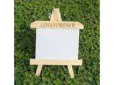 Peicees 5pcs Unfinished Wood Easel Photo Picture Frames 5&quot x