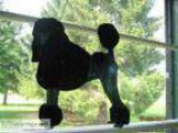 Stained Glass Poodle