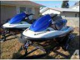 Two 2006 Kawasaki STX-12F Jet-Skis with Trailer&acirc