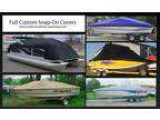 Snap-On Boat Covers - Full and Cockpit Boat Covers