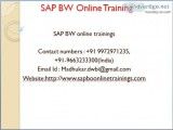 Bw online/hana /qlikview training by exp
